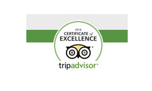 TripAdvisor 2016 Travelers' Choice winner