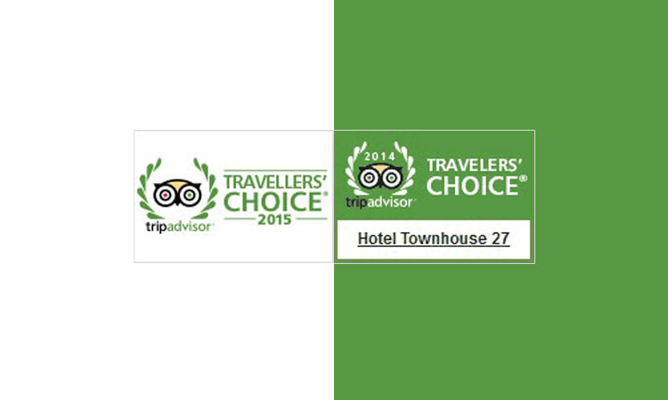 TRIP ADVISOR 2014 and 2015 Travellers' Choice Award
